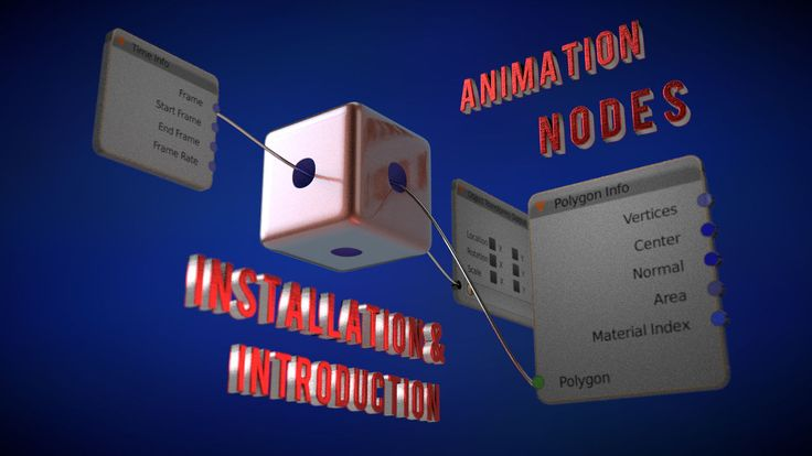 Installation and Introduction to the Animation Nodes (Update)