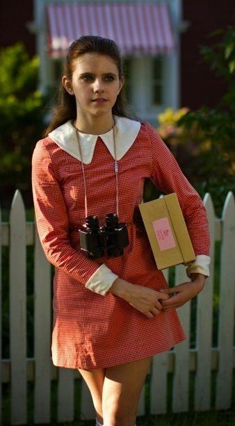 Kara Hayward as Suzy in 'Moonrise Kingdom' - Costume Designer: Kasia Walicka-Maimone