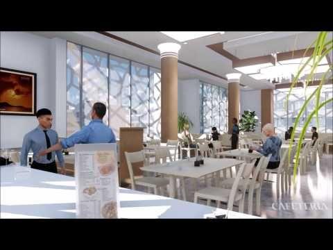 Lumion  Animation Hotel La Ra Use Alger Youtube