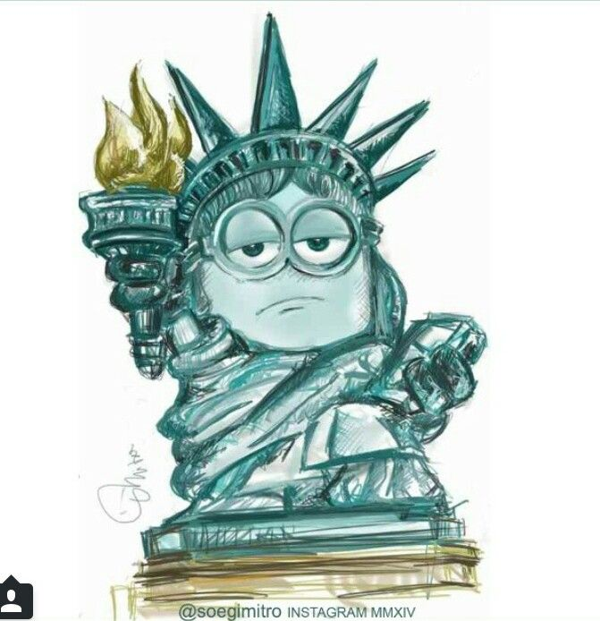 Statue of Liberty Minion ????
