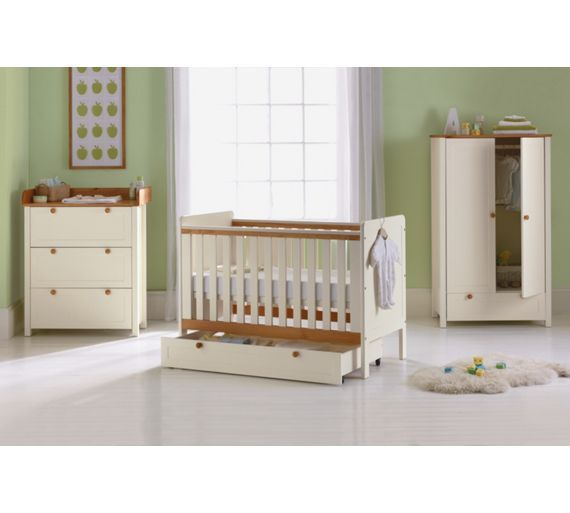 Buy BabyStart Classic Two-Tone 5 Piece Nursery Furniture Set at Argos.co.uk - Your Online Shop for Nursery furniture sets, Nursery furniture, Sleep, Baby and nursery.