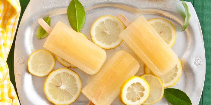 Popsicles à la limonade