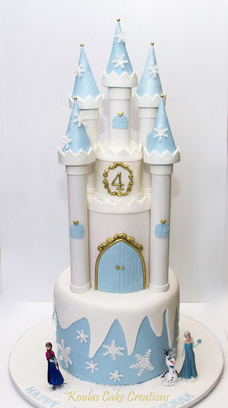 Frozen Castle Cake Frozen Disney Cake Ideas Frozen