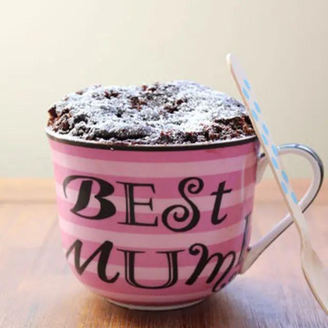 Nutella Mug Cake with Self-Raising Flour, Cocoa, Sugar ...