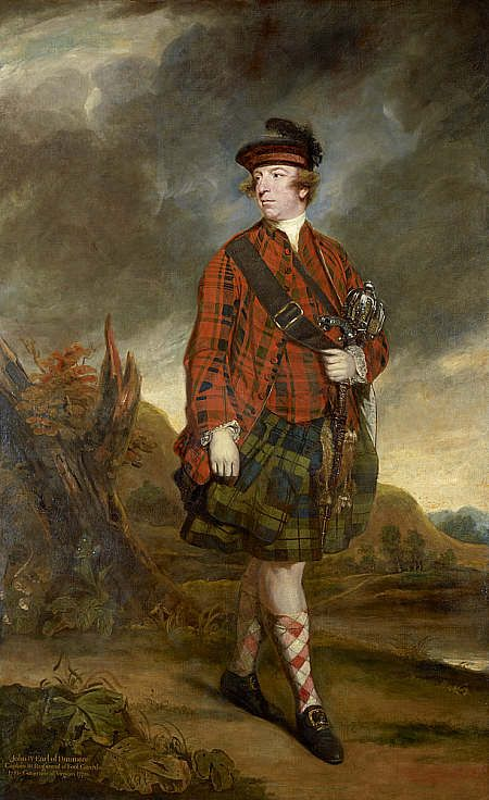 Sir Joshua Reynolds John Murray, 4th Earl of Dunmore 1765 National Gallery of Scotland