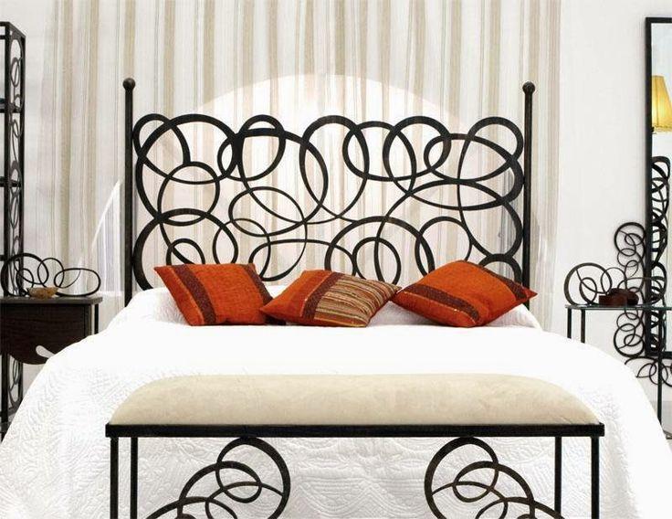 Dormitorios en forja cabeceras de hierro camas de metal dormitorios home decor decor y home Cabeceros de forja infantiles