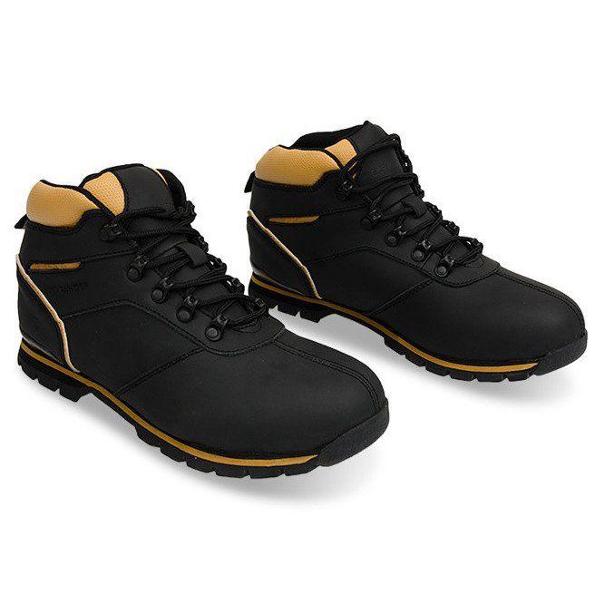 Ocieplane Trapery Trekkingowe Da5 Czarny Czarne Trekking Shoes Shoes Black