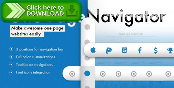 [ThemeForest]Free nulled download One Page Navigator for Visual Composer from http://zippyfile.download/f.php?id=50105 Tags: ecommerce, extra menu, fixed menu, menu, navigation, one page website, plugin, sticky, visual composer