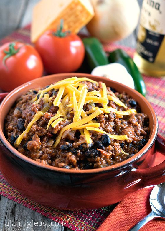 Quick and Easy Chili - A Family Feast