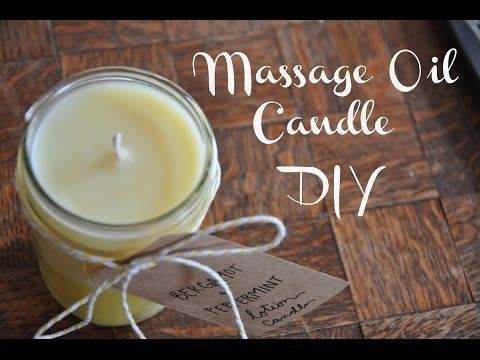 Massage Oil Candle if you have a 3 oz. container, measure out 1 oz of cocoa butter, 1 oz of soy wax, and 1 oz of almond oil. 5. Add 20-25 drops of essential oil per 3 oz. Bergamot and Peppermint Lavender and Tangerine Eucalyptus and Grapfruit Ylang Ylang and Cedarwood Cloves and Sweet Orange