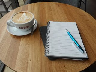 8 Tips for Writing in Cafés  #amwriting #writing #writingtips #writers
