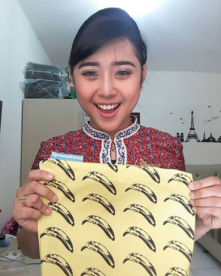 Thankyou for ordered cantik.  #pouch #bananapouch #pouchprinting #pouchoversize #pouchcustom