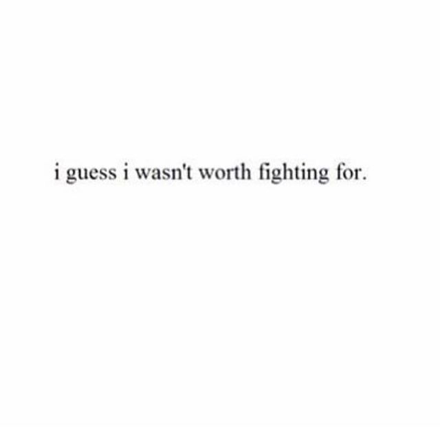 U are worth fight,if not why I always fight for us.Now its a choice of whether u need me or her.I don't like sharing.Same as u do.