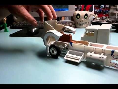 model semi truck parts - Google Search