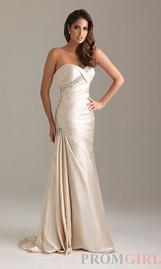 Strapless Beaded Evening Gown by Night Moves 6489 at PromGirl.com http://www.promgirl.com/shop/dresses/viewitem-PD736962