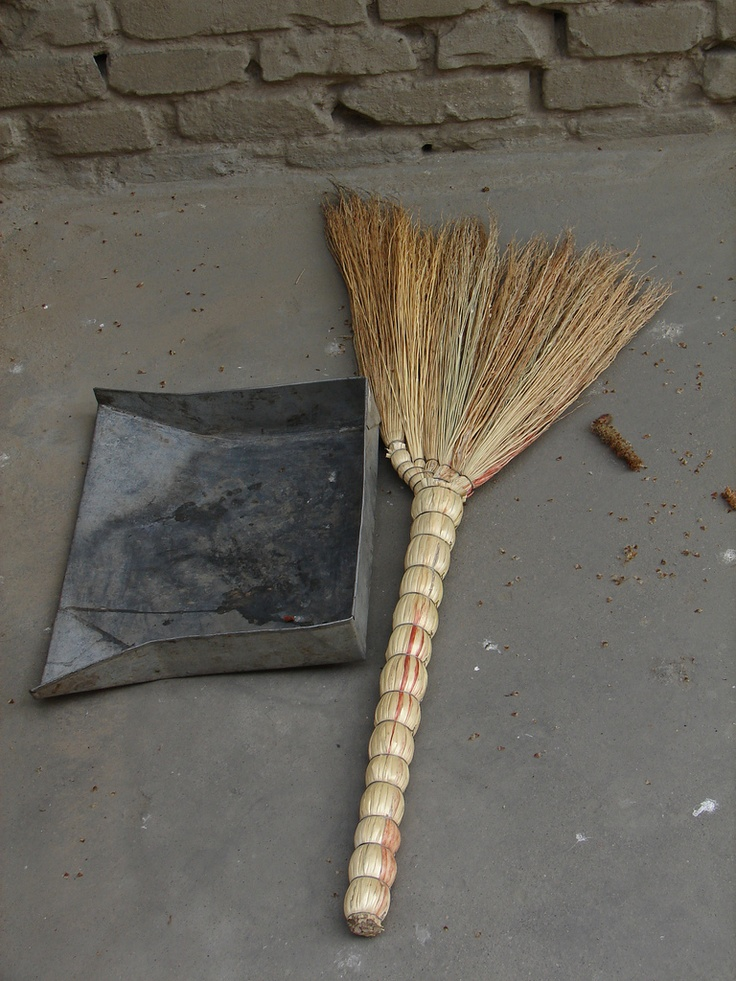 Chinese broom superstitions: A broom is inhabited by a spirit, and so a broom should not be used for games or playing, only for cleaning. It is disrespectful to use a broom for cleaning the household gods or altar; these are cleaned with a cloth or a special small brush. During the Spring Festival (Lunar New Year), sweeping with the broom any time in the three days from New Year's Day on will sweep away good luck and good fortune of the New Year. Beating a person with a broom will bring bad…