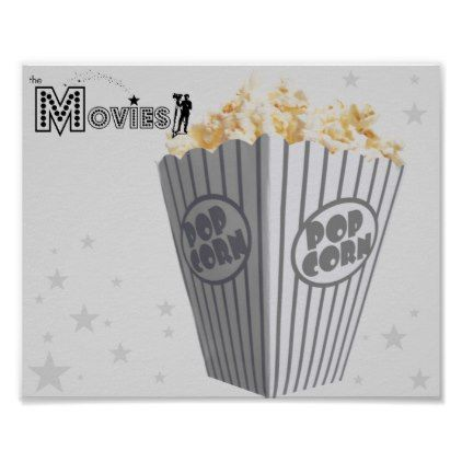 The Movie's 10x8 Popcorn Poster - decor gifts diy home & living cyo giftidea