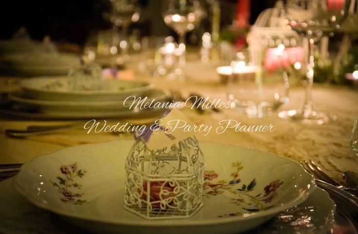 Segnaposto Allestimenti ... Wedding e Party Planner Catania Melania Millesi http://www.melaniamillesi.it/