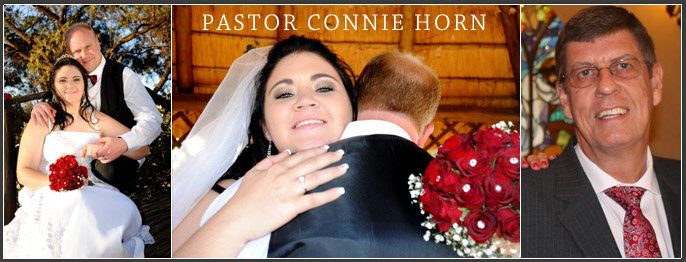Pastor Connie Horn - Johannesburg Marriage Officers | Wedding Ceremony