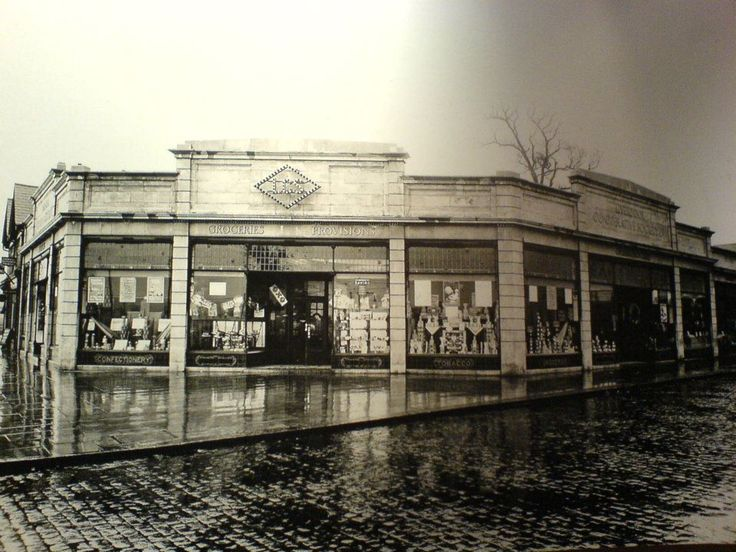 Old Co-op, corner of Queens Drive and Prescott road