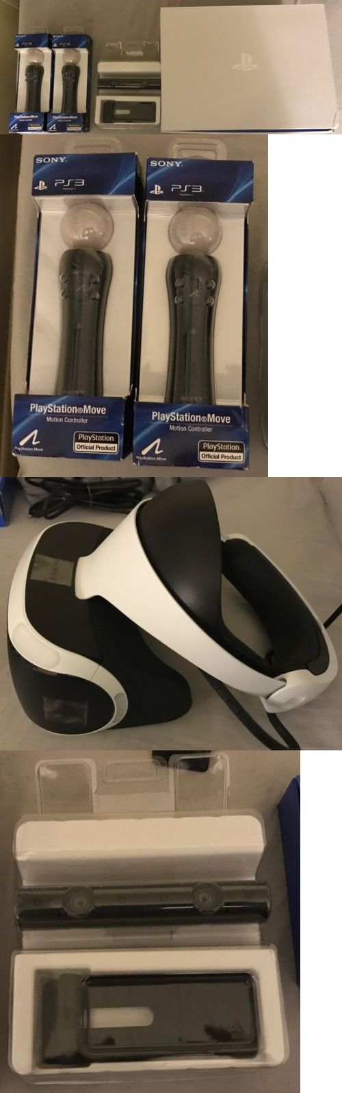 PC and Console VR Headsets: Sony Playstation Vr Bundle Psvr Ps4 (Open Box) BUY IT NOW ONLY: $600.0