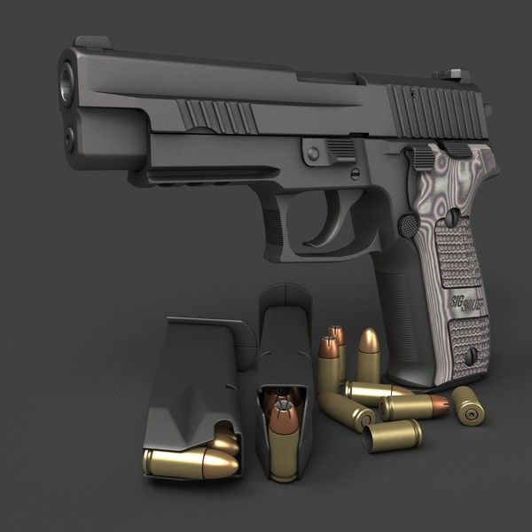 Sig Sauer P226 Extreme McGarretts weapon of choice!