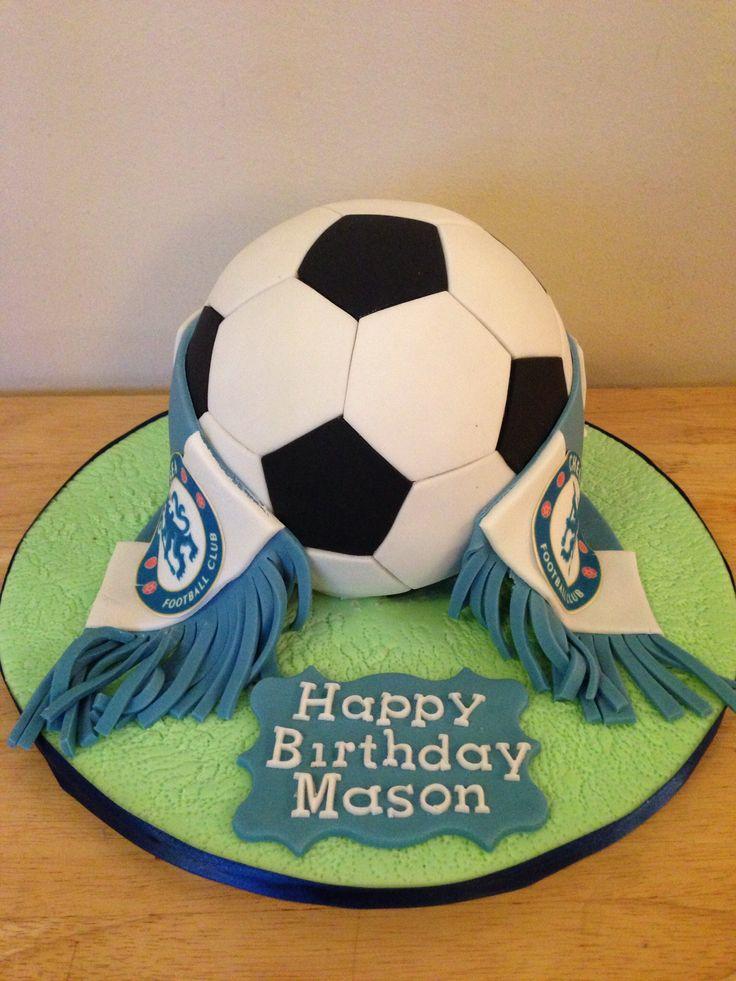 Chelsea football cake