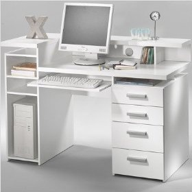 So many compartments! Perfect desk