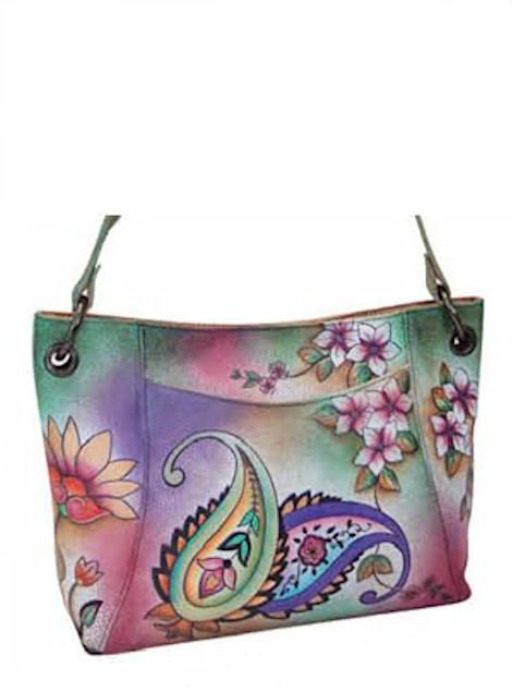 Hand+Painted+Handbags+Purses+Anuschka | Belts Handbags Luggage Briefcases Leather Accessories