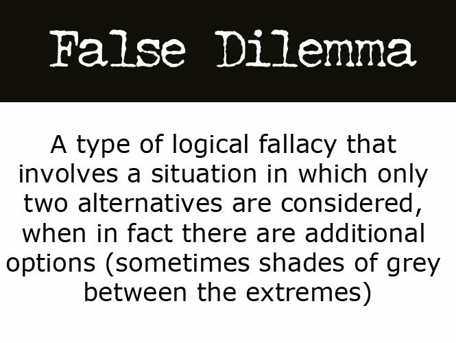 "My Aspergers Child: ""False Dilemma""-A Thinking Error in Chidren on the Autism Spectrum. Pinned by SOS Inc. Resources http://pinterest.com/sostherapy."