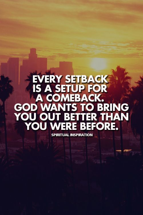 A Setback Is A Setup For A Comeback Quote Awesome Photographs 127