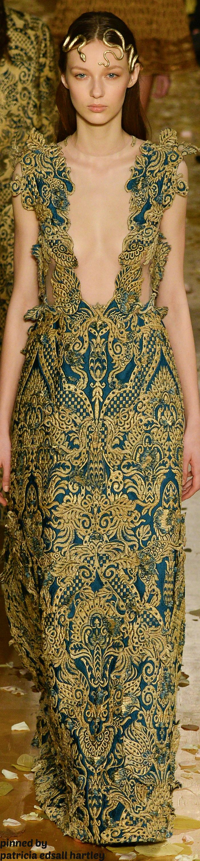 Valentino Spring 2016 Couture Fashion Show | Costumes of Beauty Wear Art