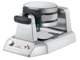 Commercial Waffle Maker - Waring WW200 Double Waffle Maker-www.hoskit.com.au- Kitchen & Catering Equipment