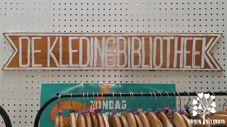 De Kledingbibliotheek is een plek in Utrecht waar je unieke designerkleding, duurzame fairtrade outfits en leuke tweedehands stukken kan lenen! #fashion
