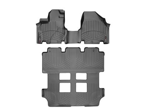 2012 Honda Odyssey | WeatherTech FloorLiner - car floor mats liner, floor tray protects and lines the floor of truck and SUV carpeting from mud, snow, water and dirt | WeatherTech.com