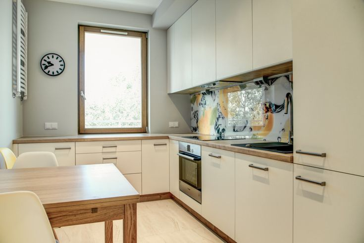Perfect Space, backspalsh w aranżacji wnętrza kuchni, owoce