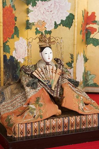 Japanese Traditional Hina Doll of Tempo Era 8 (1837) by ichico, via Flickr