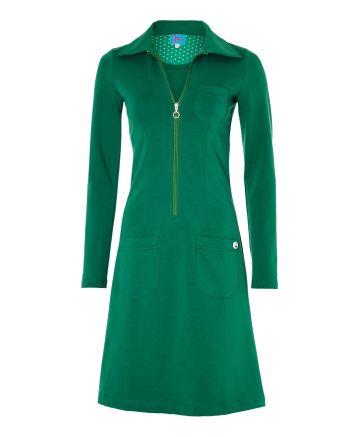 Tante Betsy zippie dress sweat green