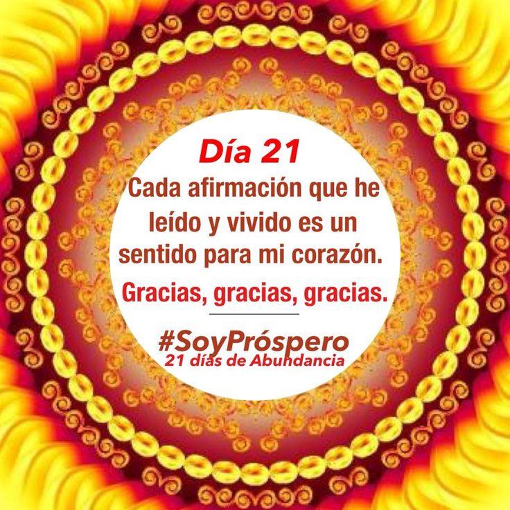 Dia 21 - #SoyPróspero: 21 Días de Abundancia.
