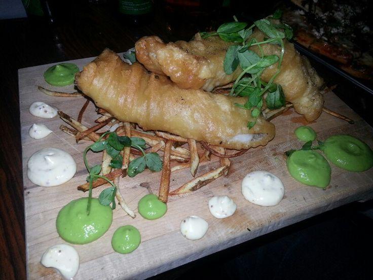 Fish and Chips - now regular menu item!