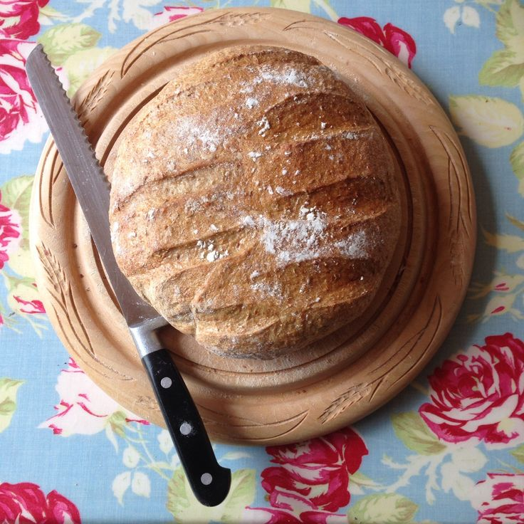 Caraway Wholemeal Sourdough Loaf