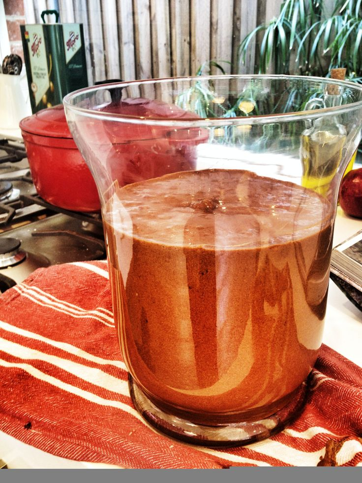 Rich dark chocolate mousse. Monday morning recipe. So delicious. Serve in a vase for effect. Insane love