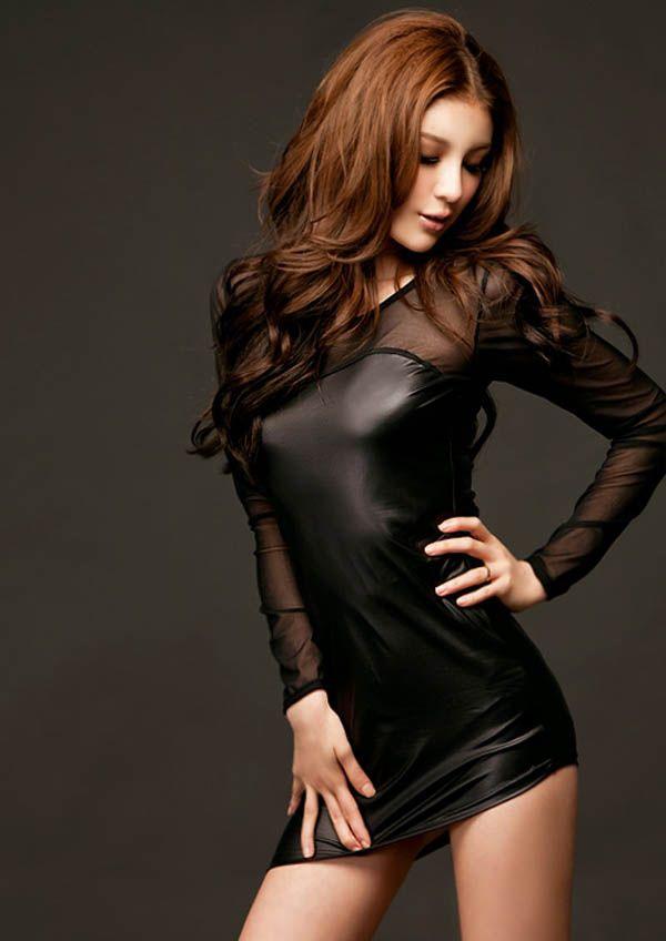 Faux Leather Tight Mini Dress | Maximillian de Winter | Pinterest ...