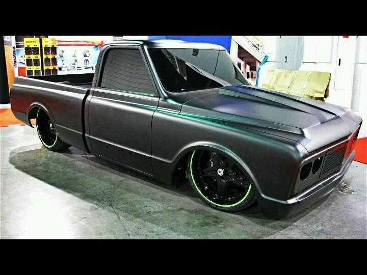 Murdered | 1967-72 Chevy Truck | Pinterest