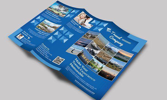 Travel brochure template | Travel Tri Fold  Brochure by Creative  designer on @creativemarket #Travelbrochuretemplate