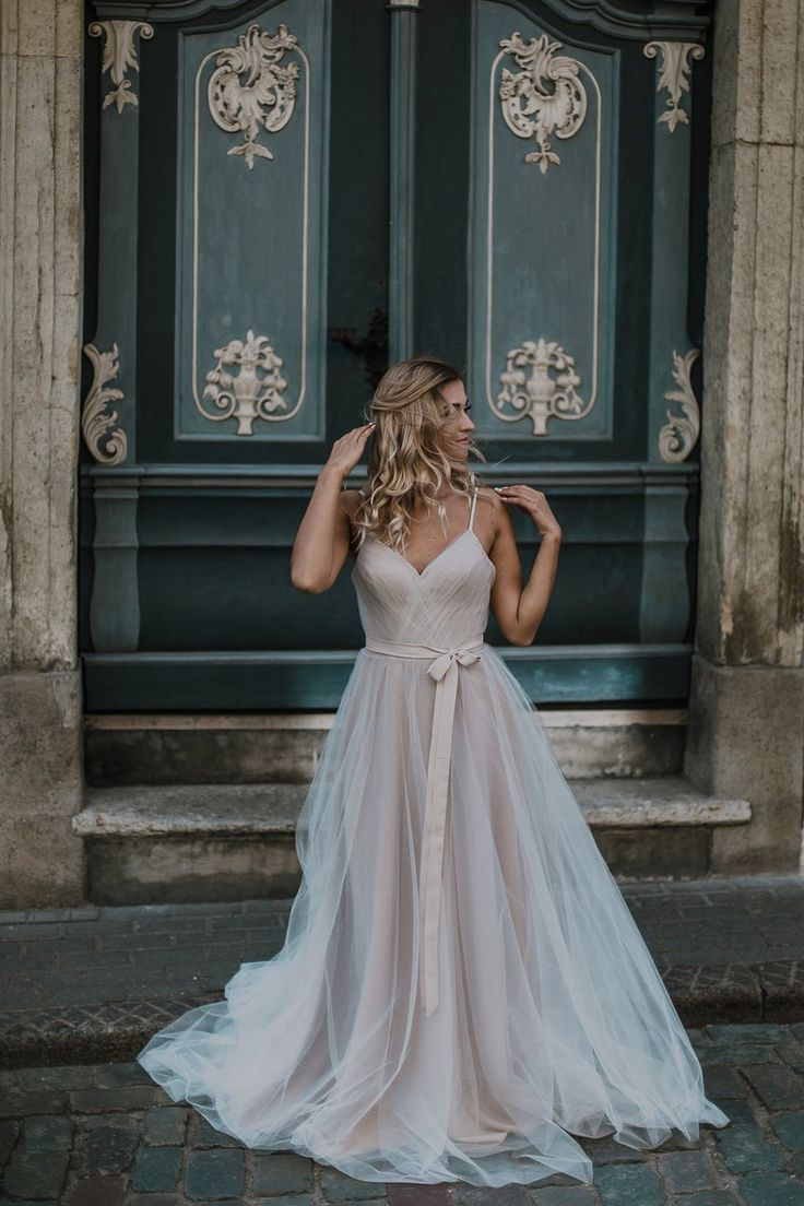 Art nouveau chic wedding gown by amelii in 2020 wedding