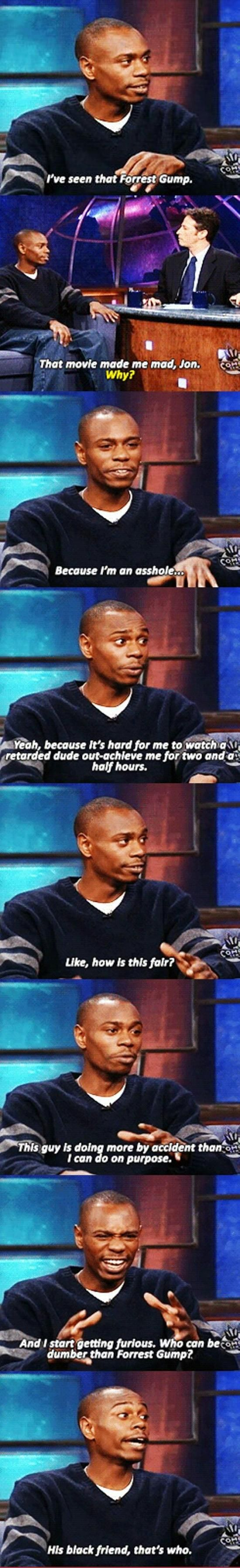 Oh Dave Chappelle