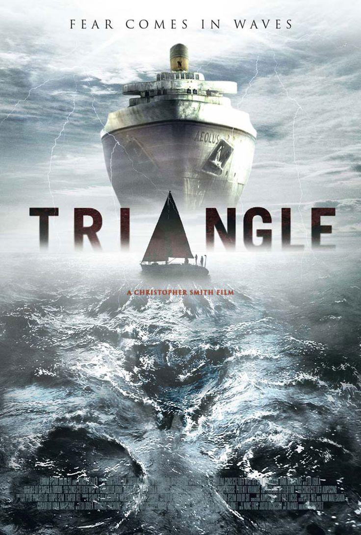 Triangle Boat Poster Peliculas De Tiburones Mundo De Peliculas Peliculas En Netflix
