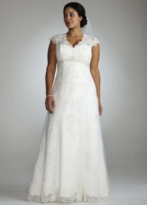 Abiti da sposa per donne formose - Abito da sposa vintage