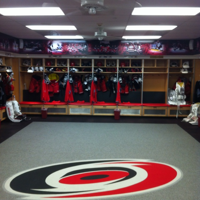 Carolina Hurricanes Locker Room Passion Of Sport
